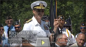 Rear Admiral Richard West